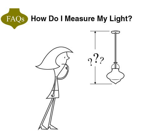 Every Day We Get Calls Or Emailsu2014some With Renovation Pictures  Attachedu2014that Ask The Question, U201cHow Do I Measure The Overall Length Of My  Light Fixture?u201d